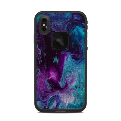 Lifeproof iPhone XS Max Fre Case Skin - Nebulosity