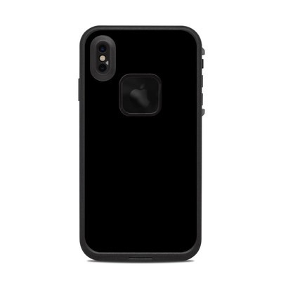 Lifeproof iPhone XS Max Fre Case Skin - Solid State Black
