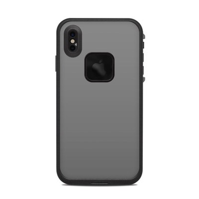 Lifeproof iPhone XS Max Fre Case Skin - Solid State Grey