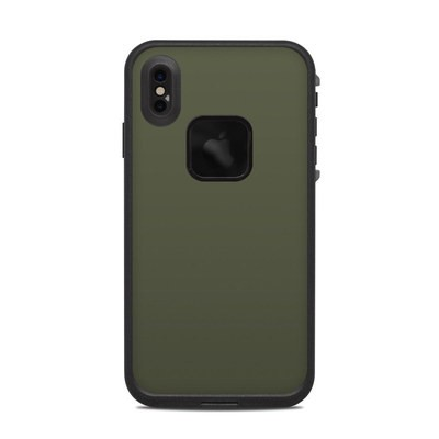 Lifeproof iPhone XS Max Fre Case Skin - Solid State Olive Drab
