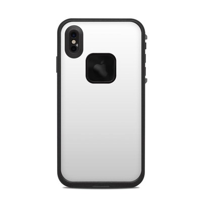 Lifeproof iPhone XS Max Fre Case Skin - Solid State White