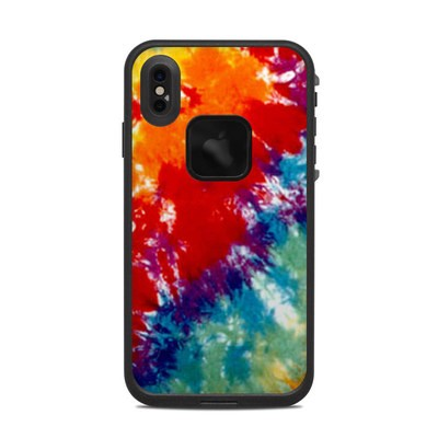Lifeproof iPhone XS Max Fre Case Skin - Tie Dyed