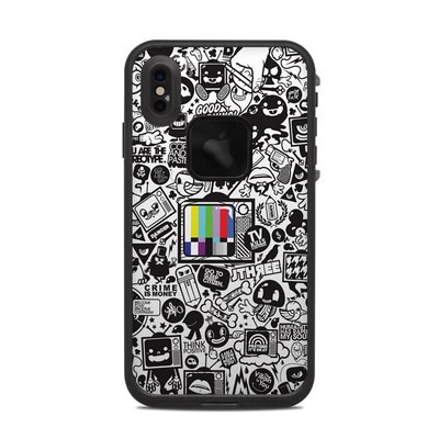 Lifeproof iPhone XS Max Fre Case Skin - TV Kills Everything