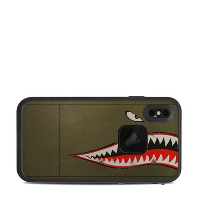 Lifeproof iPhone XS Max Fre Case Skin - USAF Shark