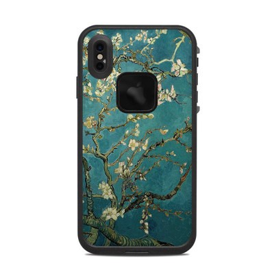 Lifeproof iPhone XS Max Fre Case Skin - Blossoming Almond Tree