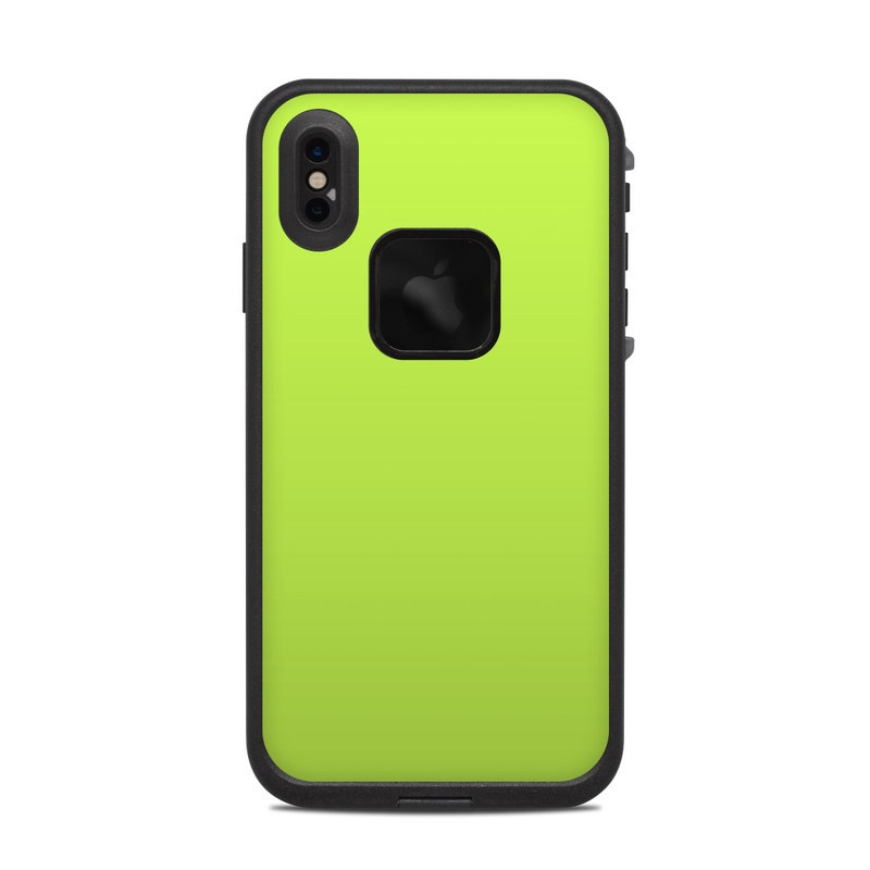 the latest f1972 6a060 Lifeproof iPhone XS Max Fre Case Skin - Solid State Lime