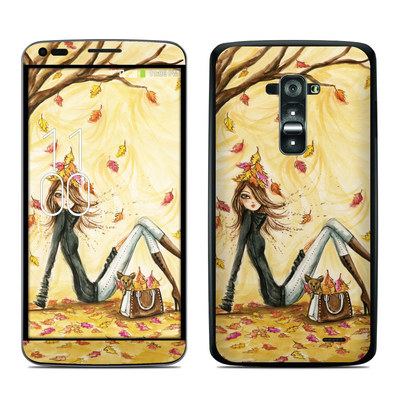 LG G Flex Skin - Autumn Leaves