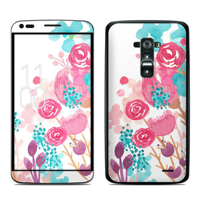 LG G Flex Skin - Blush Blossoms