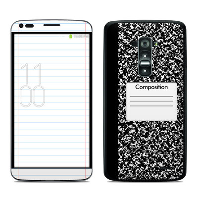 LG G Flex Skin - Composition Notebook