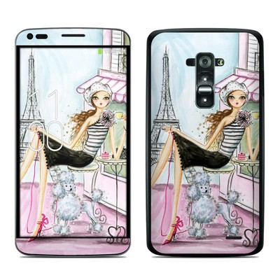 LG G Flex Skin - Cafe Paris