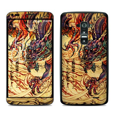LG G Flex Skin - Dragon Legend