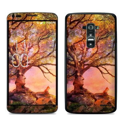 LG G Flex Skin - Fox Sunset