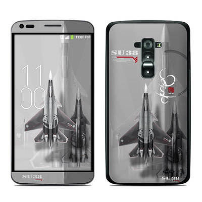 LG G Flex Skin - Jet Fighter