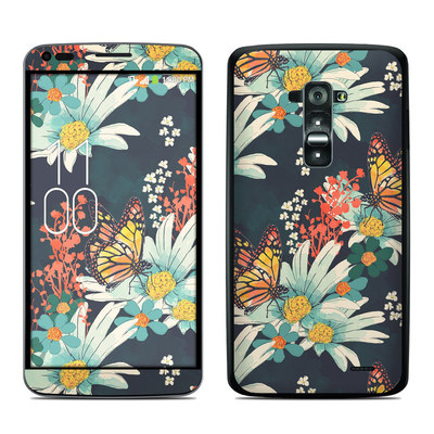 LG G Flex Skin - Monarch Grove