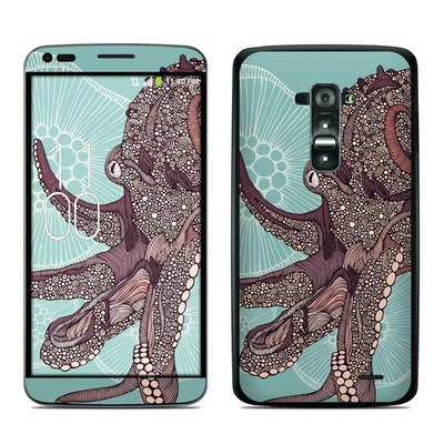 LG G Flex Skin - Octopus Bloom