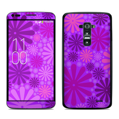 LG G Flex Skin - Purple Punch