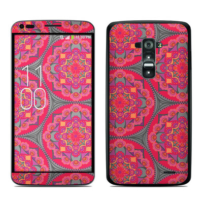 LG G Flex Skin - Ruby Salon