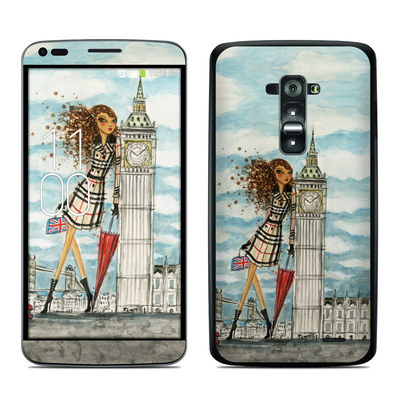 LG G Flex Skin - The Sights London