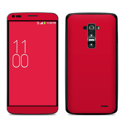 LG G Flex Skin - Solid State Red