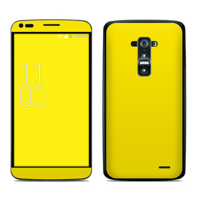 LG G Flex Skin - Solid State Yellow