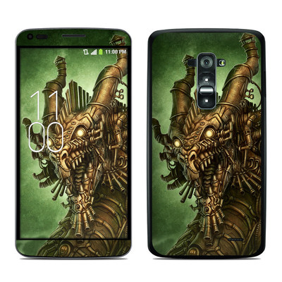 LG G Flex Skin - Steampunk Dragon