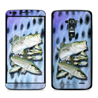 LG G Flex Skin - Striped Bass