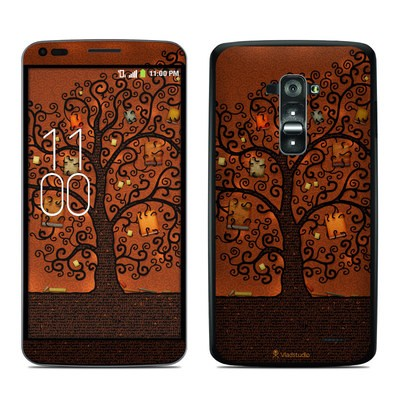 LG G Flex Skin - Tree Of Books