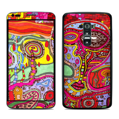 LG G Flex Skin - The Wall