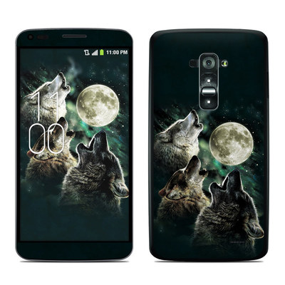 LG G Flex Skin - Three Wolf Moon
