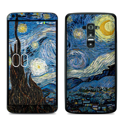 LG G Flex Skin - Starry Night