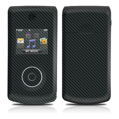 LG Chocolate 3 Skin - Carbon