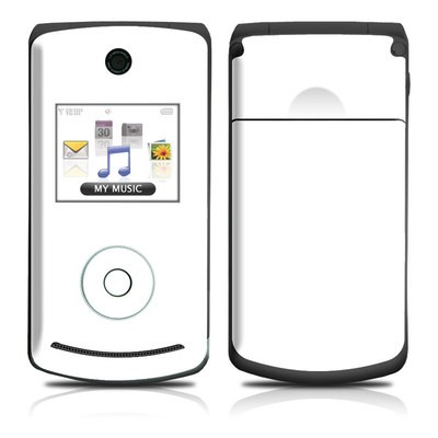 LG Chocolate 3 Skin - Solid State White