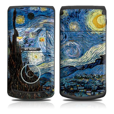 LG Chocolate 3 Skin - Starry Night