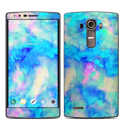 LG G4 Skin - Electrify Ice Blue