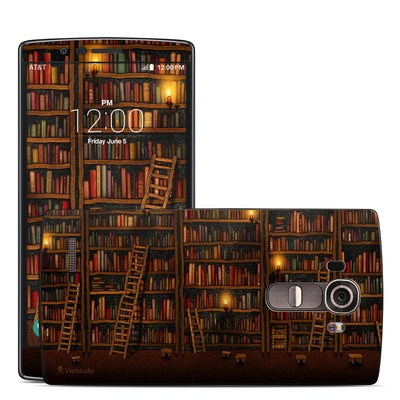 LG G4 Skin - Library