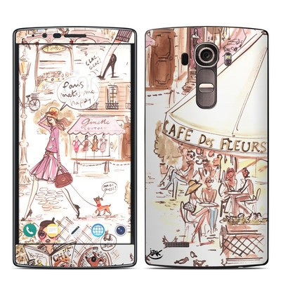 LG G4 Skin - Paris Makes Me Happy