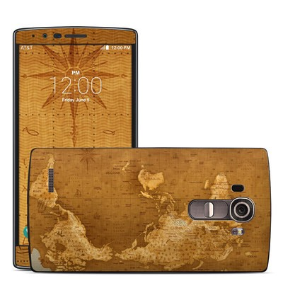 LG G4 Skin - Upside Down Map