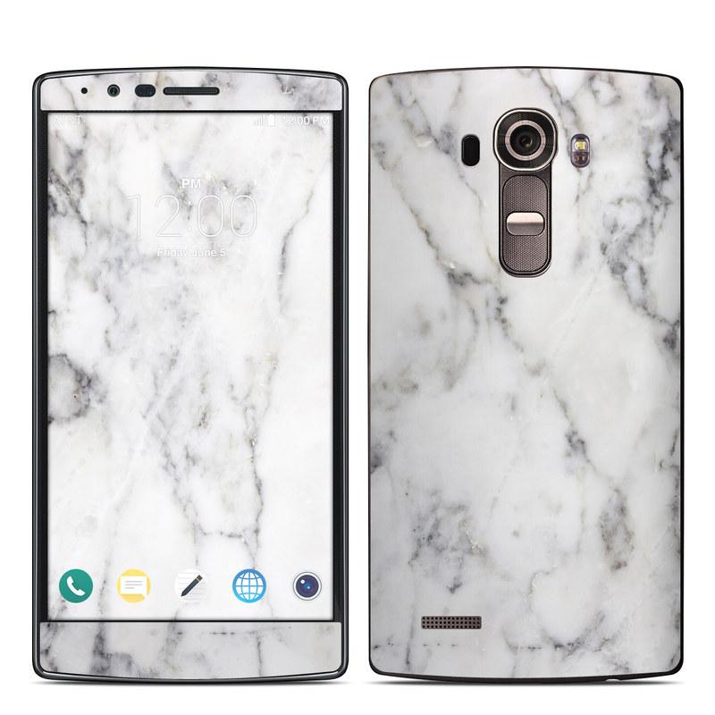 quality design f486f 834a7 LG G4 Skin - White Marble