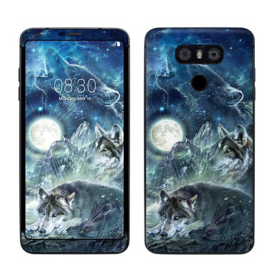 LG G6 Skin - Bark At The Moon