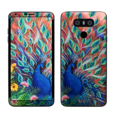 LG G6 Skin - Coral Peacock