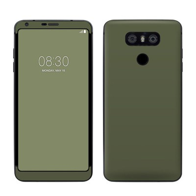 LG G6 Skin - Solid State Olive Drab