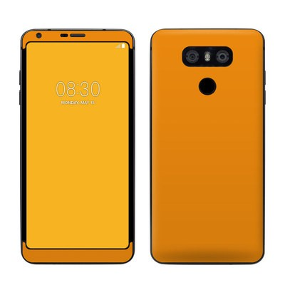 LG G6 Skin - Solid State Orange
