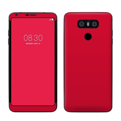 LG G6 Skin - Solid State Red
