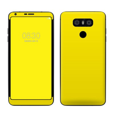 LG G6 Skin - Solid State Yellow