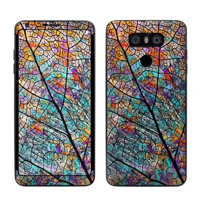 LG G6 Skin - Stained Aspen
