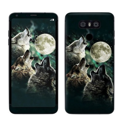 LG G6 Skin - Three Wolf Moon