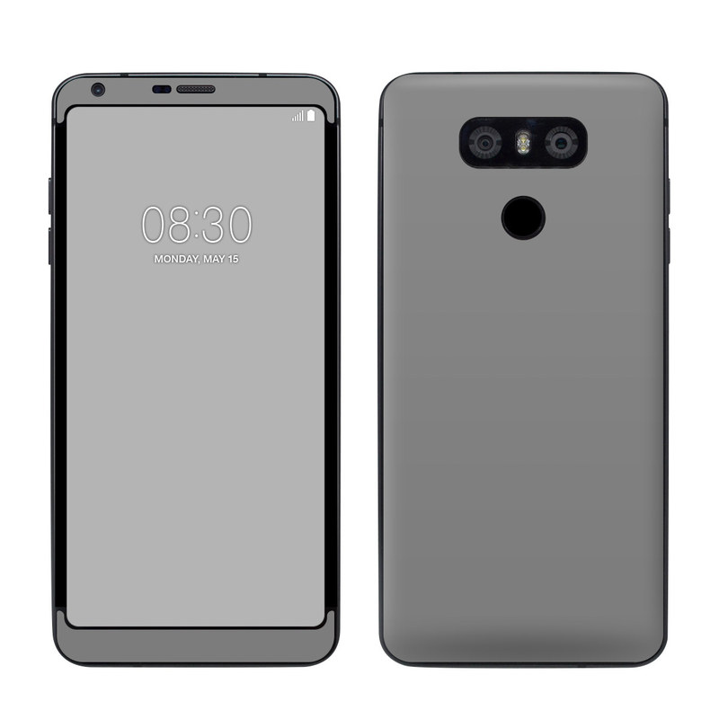 LG G6 Skin - Solid State Grey by Solid Colors   DecalGirl