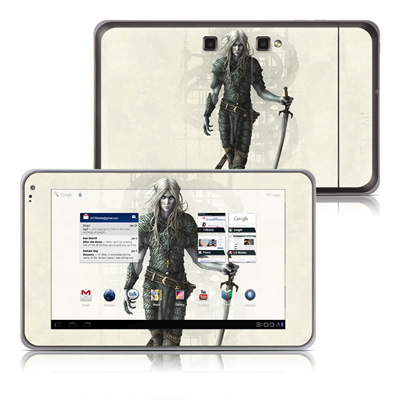 LG G-Slate Tablet Skin - Dark Elf