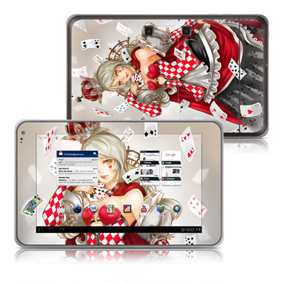 LG G-Slate Tablet Skin - Queen Of Cards