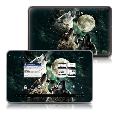 LG G-Slate Tablet Skin - Three Wolf Moon